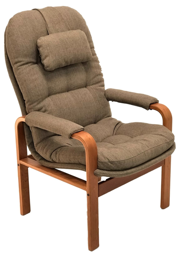 High back chair